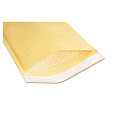 8105001179872 SEALED AIR JIFFYLITE CUSHIONED MAILER, #4, BUBBLE LINING, SELF-ADHESIVE, 9.5 X 14.5, GOLDEN KRAFT, 100/BOX