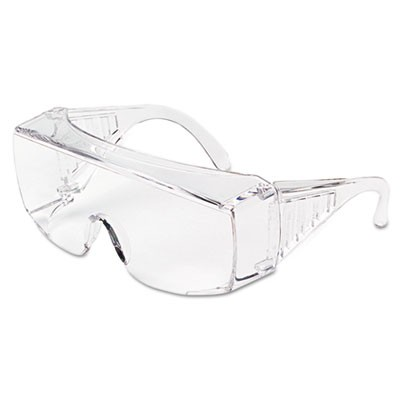 Yukon Uncoated Protective Eyewear, Clear, X-Large