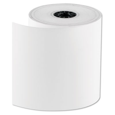 "REGISTROLLS THERMAL POINT-OF-SALE ROLLS, 3.13"" X 200 FT, WHITE, 30/CARTON"