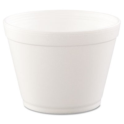 Foam Containers,16oz, White, 25/bag, 20 Bags/carton