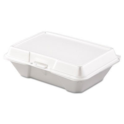 Carryout Food Container, Foam, 1-Comp, 9 3/10 X 6 2/5 X 2 9/10, 200/carton