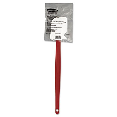 "High-Heat Cook's Scraper, 16 1/2"", Red/white"