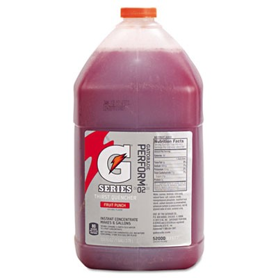Liquid Concentrate, Fruit Punch, One Gallon Jug, 4/carton