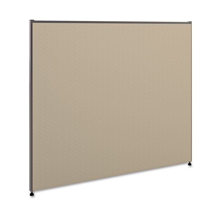Verse Office Panel, 48w X 42h, Gray