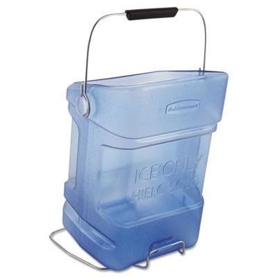 Ice Tote, 5.5gal, Blue, With Hook Assembly
