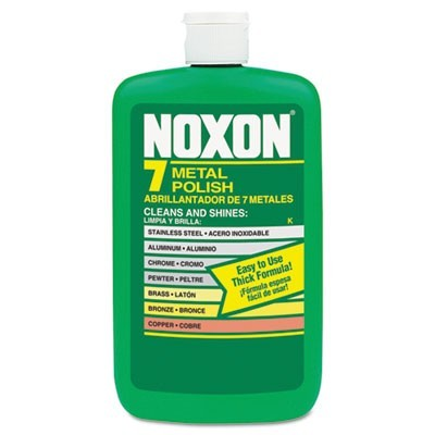 Noxon Metal Polish, Liquid, 12 Oz. Bottle