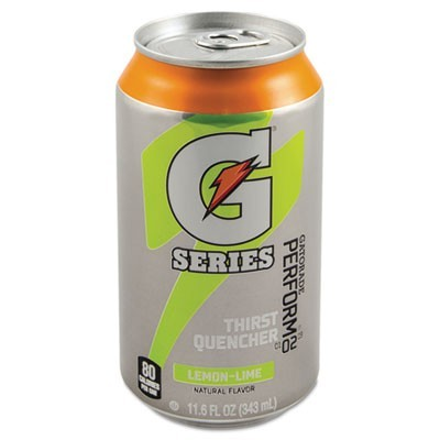 Thirst Quencher Can, Lemon-Lime, 11.6oz Can, 24/carton