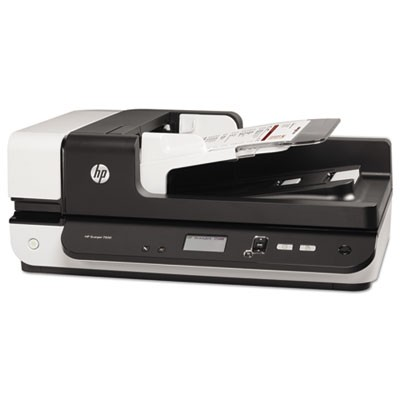 SCANJET ENTERPRISE FLOW 7500 FLATBED SCANNER, 600 DPI OPTICAL RESOLUTION, 100-SHEET DUPLEX AUTO DOCUMENT FEEDER