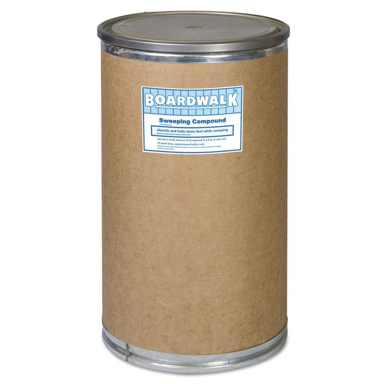 HEAVY DUTY OIL-BASED SWEEPING COMPOUND, POWDER, 55 GAL DRUM