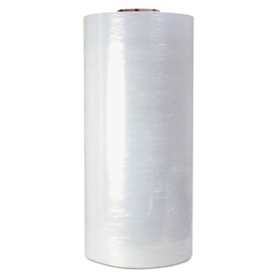 "High-Performance Pre-Stretched Handwrap Film, 18"" X 1500ft, 32-Ga, Clear, 4/ct"