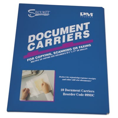 CARRIER,FAX DOCUMENT10/PK