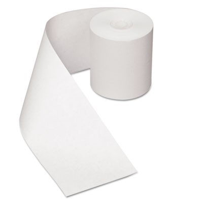 "HEAT SENSITIVE REGISTER ROLLS, 0.5"" CORE, 3.13"" X 200 FT, WHITE, 30/CARTON"