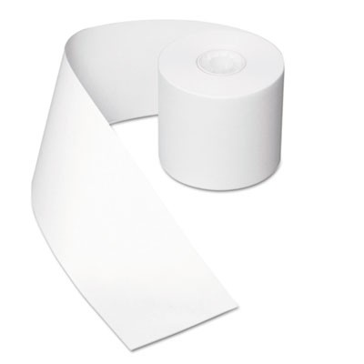 REGISTER ROLLS, 44 MM X 39.62 M, WHITE, 50/CARTON