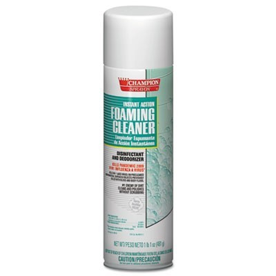 Instant Action Foaming Cleaner/disinfectant, 17oz, Aerosol, 12/carton