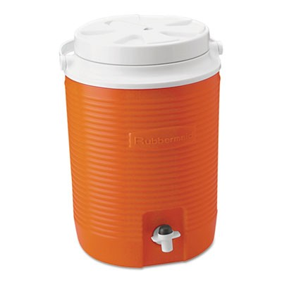 VICTORY JUG, 2 GAL, ORANGE, 4/CARTON