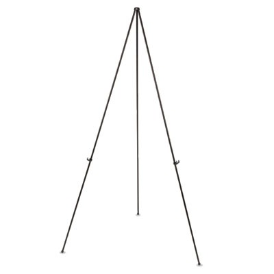 "Instant Easel, 61 1/2"", Black, Steel, Lightweight"
