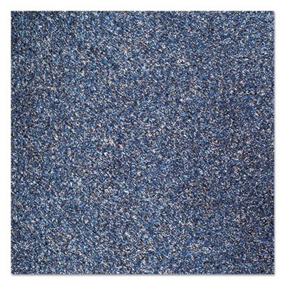 Rely-On Olefin Indoor Wiper Mat, 36 X 48, Blue/black
