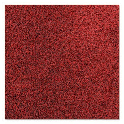 Rely-On Olefin Indoor Wiper Mat, 36 X 48, Red/black