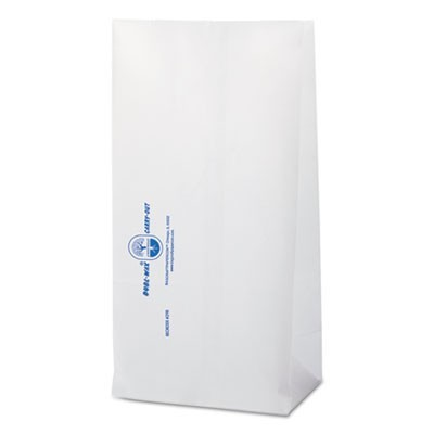 "DUBL WAX SOS BAKERY BAGS, 6.13"" X 12.38"", WHITE, 1,000/CARTON"