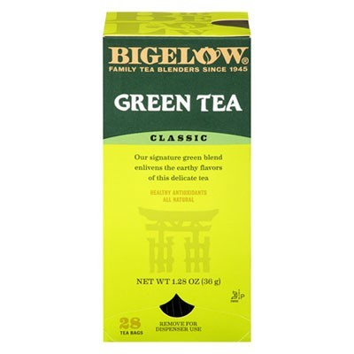 Single Flavor Tea, Green, 28 Bags/box