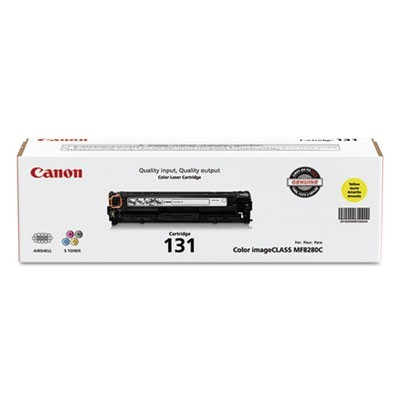 6269B001 (CRG-131) TONER, 1500 PAGE-YIELD, YELLOW