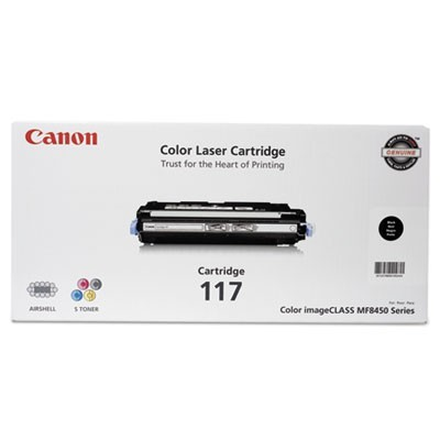 2578B001 (117) TONER, 6000 PAGE-YIELD, BLACK