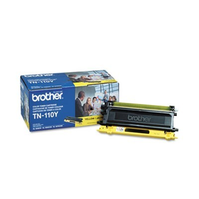TN110Y TONER, 1500 PAGE-YIELD, YELLOW