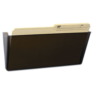 Wall File, Legal, 16 X 7, Single Pocket, Smoke