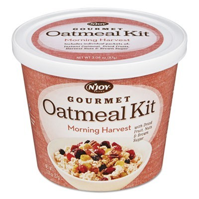 Gourmet Oatmeal Kit, Morning Harvest, 3.08 Oz Bowl, 8/Pk