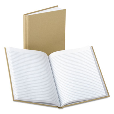 BOUND MEMO BOOKS, NARROW RULE, 9 X 5.88, WHITE, 96 SHEETS