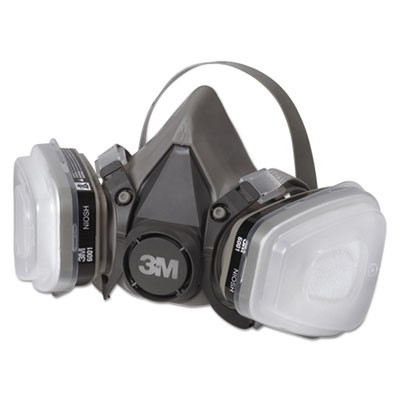 Half Facepiece Paint Spray/pesticide Respirator, Small