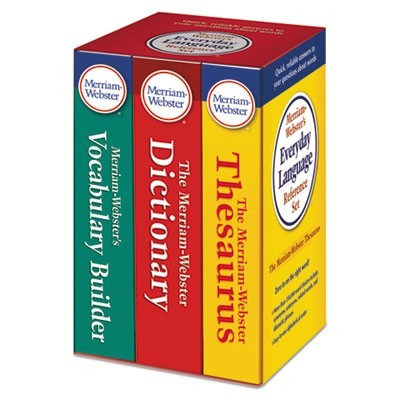 Everyday Language Reference Set, Dictionary, Thesaurus, Vocabulary Builder