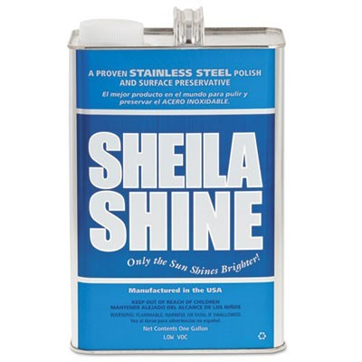 Stainless Steel Cleaner & Polish, 1 Gal Can, 4/carton