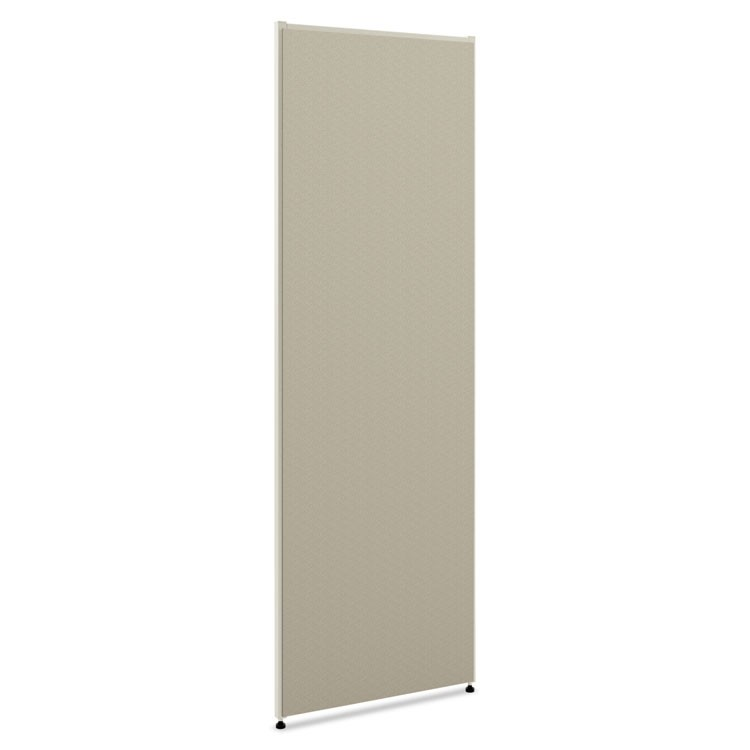 Verse Office Panel, 36w X 72h, Gray