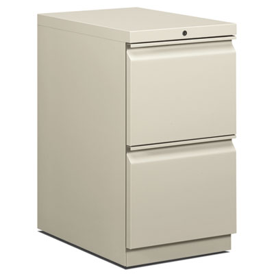 EFFICIENCIES MOBILE FILE/FILE PEDESTAL, 15W X 22.88D X 28H, LIGHT GRAY