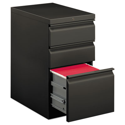 EFFICIENCIES MOBILE BOX/BOX/FILE PEDESTAL, 15W X 22.88D X 28H, CHARCOAL