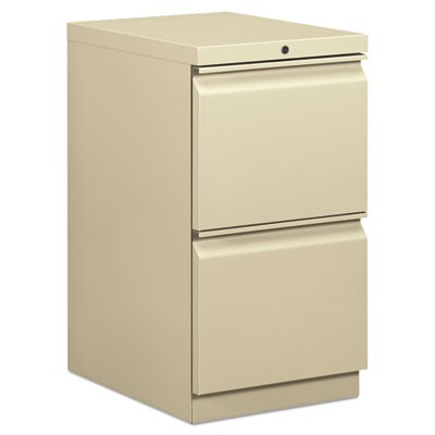 EFFICIENCIES MOBILE FILE/FILE PEDESTAL, 15W X 19.88D X 28H, PUTTY