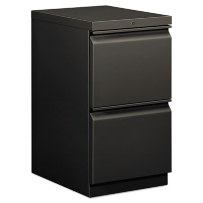 EFFICIENCIES MOBILE FILE/FILE PEDESTAL, 15W X 19.88D X 28H, CHARCOAL