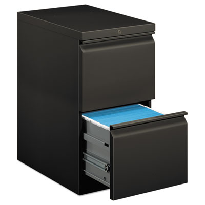 EFFICIENCIES MOBILE FILE/FILE PEDESTAL, 15W X 22.88D X 28H, CHARCOAL