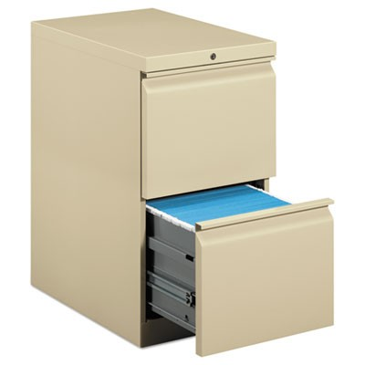 EFFICIENCIES MOBILE FILE/FILE PEDESTAL, 15W X 22.88D X 28H, PUTTY