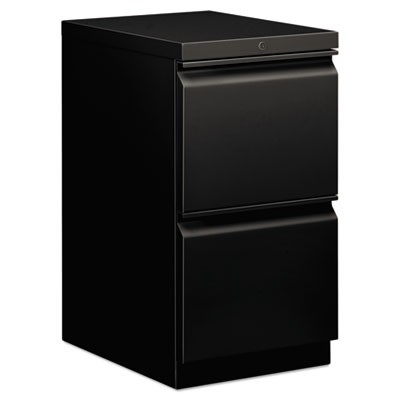 EFFICIENCIES MOBILE FILE/FILE PEDESTAL, 15W X 19.88D X 28H, BLACK