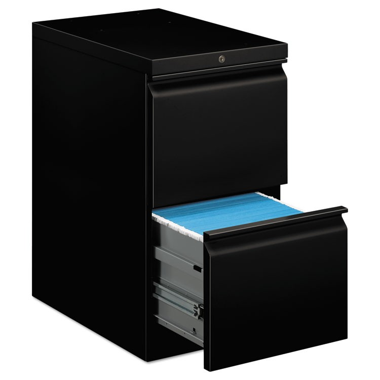EFFICIENCIES MOBILE FILE/FILE PEDESTAL, 15W X 22.88D X 28H, BLACK