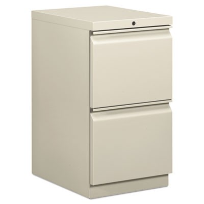 EFFICIENCIES MOBILE FILE/FILE PEDESTAL, 15W X 19.88D X 28H, LIGHT GRAY