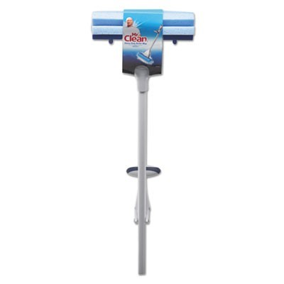 "Heavy Duty Roller Mop, 45"" Handle, 10 1/2 X 3 Head, White/blue"
