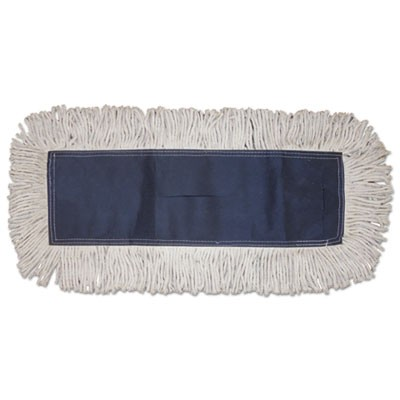 Dust Mop, Disposable, 5 X 60, White