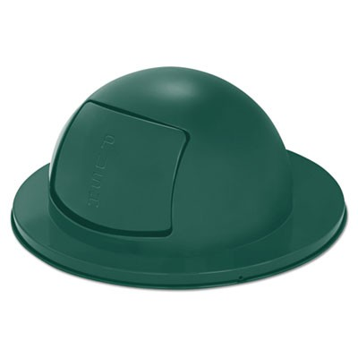 Steel Dome Drum Top, 24 1/2dia X 12h, Green