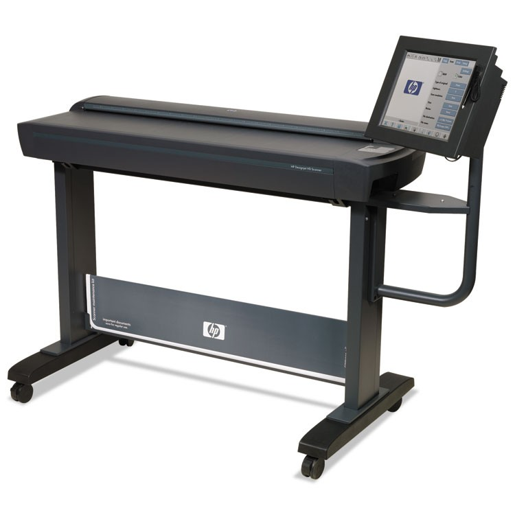 "HD PRO 42"" LARGE-FORMAT SCANNER, SCANS UP TO 42"" X 1204"", 1200 DPI OPTICAL RESOLUTION"