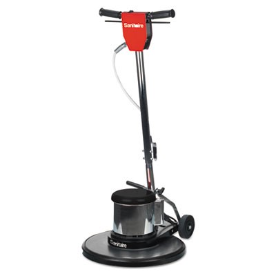 "CAST FLOOR MACHINE, 1 1/2 HP MOTOR, 175 RPM, 20"" PAD"