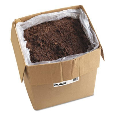Blended Wax-Based Sweeping Compound, Red, Grit-Free, 100lbs, Box