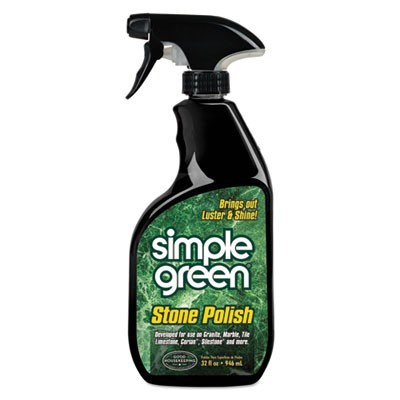 Streak-Free Stone Polish, Unscented, 32oz Bottle